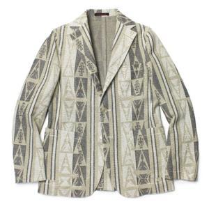 THE GIGI ( ザ ジジ ) / ANGIE ( アンジー ) / コットン ジャカードジャージー 2B3パッチ シングルジャケット【ベージュ】|luccicare