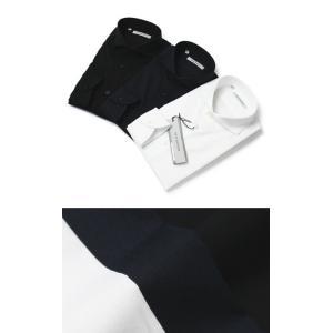 GUY ROVER ( ギローバー ) / コットン ブロード ストレッチ カッタウェイシャツ【ホワイト/ネイビー/ブラック】【送料無料】|luccicare
