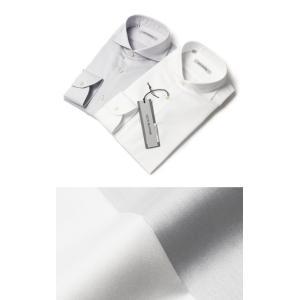 GUY ROVER ( ギローバー ) / コットン ツイル カッタウェイシャツ【ホワイト/アイスグレー】【送料無料】|luccicare
