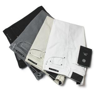 PT05 ( ピーティーゼロチンクエ ) / BLACK LABEL ( ブラック レーベル ) / SUPER SLIM FIT / コットンストレッチ ウォッシュドカラー パンツ【C6D6ET】 luccicare