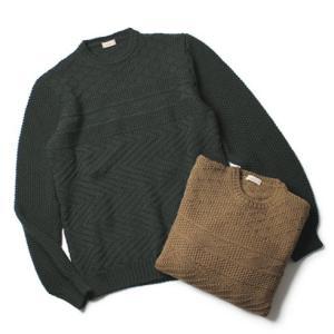 アルテア / Altea / ウール ボーダー編み クルーネック セーター / セール / 返品・交換不可|luccicare