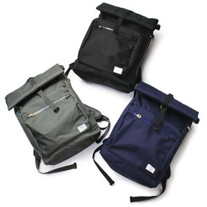 Ficouture ( フィクチュール ) / ROOLTOP DAY PACK / 22L / ロールトップ デイパック 【ブラック/ネイビー/グレー】【送料無料】|luccicare