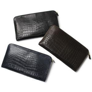 チセイ / シセイ / Cisei / 山本製鞄 コラボモデル / センター取り本クロコ クラッチ バッグ / 返品・交換可能|luccicare