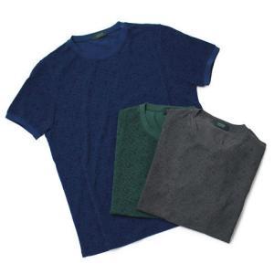 ザノーネ / ZANONE / アイスピケ フラワープリント Tシャツ / セール / 返品・交換不可|luccicare