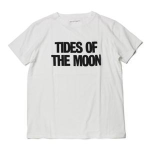 アッパーハイツ / upper hights × MOON / THE MOON TEE / コットン Tシャツ / セール / 返品・交換不可|luccicare