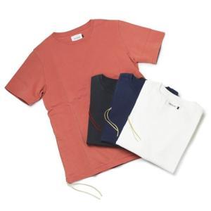 CAL O LINE ( キャルオーライン )  / コットン クルーネック Tシャツ【ホワイト/レッド/ネイビー/ブラック】【送料無料】|luccicare