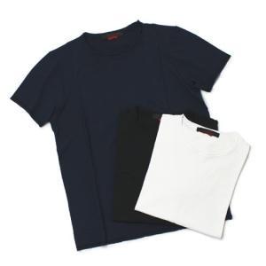 JEORDIE'S ( ジョルディーズ ) / コットン クルーネック Tシャツ【ホワイト/ネイビー/ブラック】【送料無料】|luccicare