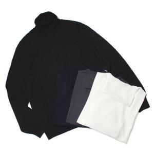 ワンズ / ONES / Loropiana / WISH SUPER160's / ウール ハイゲージ タートルネック セーター / セール / 返品・交換不可|luccicare