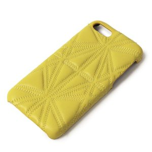 THE CASE FACTORY ( ザ ケース ファクトリー ) / TRIANGLO NAPPA / iPhone 7 / 8 対応 / キルティング ケース【イエロー】【送料無料】|luccicare
