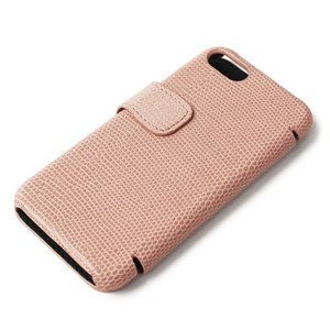 THE CASE FACTORY ( ザ ケース ファクトリー ) / LIZARD / iPhone 7 / 8 対応 / リザード型押し レザー カードケース【ピンク】【送料無料】|luccicare