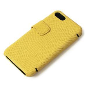 THE CASE FACTORY ( ザ ケース ファクトリー ) / LIZARD / iPhone 7 / 8 対応 / リザード型押し レザー カードケース【イエロー】【送料無料】|luccicare