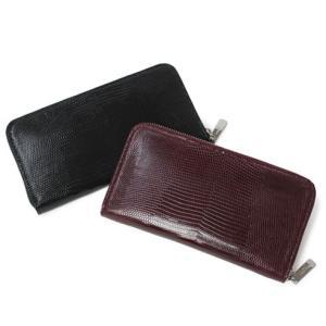 ペッレ モルビダ / PELLE MORBIDA / リザードレザー ラウンド ジップ 財布 / 返品・交換可能|luccicare