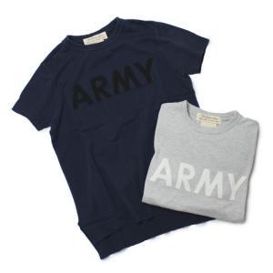 レミレリーフ / REMI RELIEF / ARMY インターシャ 半袖 ニット Tシャツ / セール / 返品・交換不可|luccicare