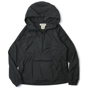 REMI RELIEF ( レミレリーフ ) / ナイロン アノラック レーザーカット ジャケット【ブラック】【送料無料】|luccicare