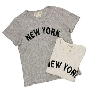 レミレリーフ / REMI RELIEF / NEW YORK ロゴ リサイクル天竺 スペシャル加工 Tシャツ / 返品・交換可能|luccicare