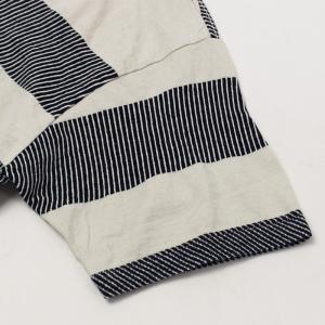 レミレリーフ / REMI RELIEF / インディゴ 太ボーダー 半袖 Tシャツ / 返品・交換可能|luccicare|04