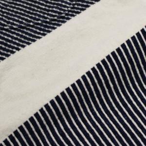 レミレリーフ / REMI RELIEF / インディゴ 太ボーダー 半袖 Tシャツ / 返品・交換可能|luccicare|06
