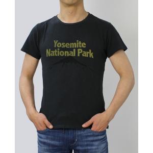 レミレリーフ / REMI RELIEF / yosemite ロゴ リサイクル天竺 スペシャル加工 Tシャツ / 返品・交換可能|luccicare|03