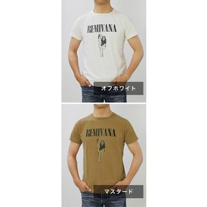 レミレリーフ / REMI RELIEF / 30/- スペシャル加工 天竺 プリント Tシャツ / 返品・交換可能|luccicare|09