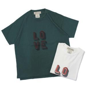 レミレリーフ / REMI RELIEF / 16/- 天竺 Tシャツ / LOVE / 返品・交換可能|luccicare