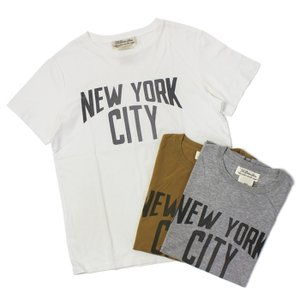 レミレリーフ / REMI RELIEF / LW 加工 Tシャツ / NEW YORK CITY / 返品・交換可能|luccicare