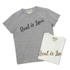 【ネコポス】  レミレリーフ / REMI RELIEF / スペシャル加工 Tシャツ / 刺繍 Real is Love / 返品・交換可能|luccicare