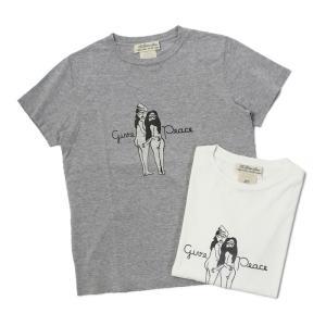 【ネコポス】  レミレリーフ / REMI RELIEF / スペシャル加工 Tシャツ / give peace / 返品・交換可能|luccicare