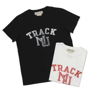 【ネコポス】 レミレリーフ / REMI RELIEF / LW 加工 Tシャツ / TRACK【オフホワイト/ブラック】 / 返品・交換可能|luccicare