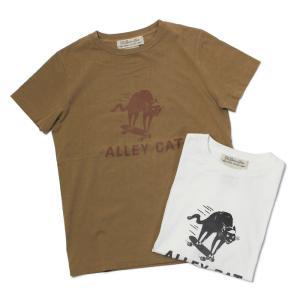 【ネコポス】 レミレリーフ / REMI RELIEF / LW 加工 Tシャツ / ALLEY CAT / 返品・交換可能|luccicare