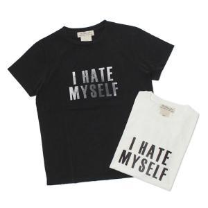 【ネコポス】レミレリーフ / REMI RELIEF / スペシャル加工 Tシャツ / I HATE MYSELF / 返品・交換可能|luccicare