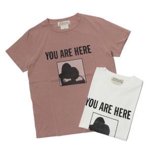 【ネコポス】レミレリーフ / REMI RELIEF / スペシャル加工 Tシャツ / YOU ARE HERE / 返品・交換可能|luccicare