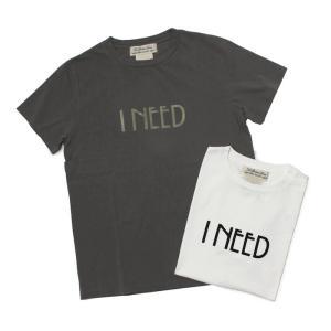 【ネコポス】レミレリーフ / REMI RELIEF / LW 加工 Tシャツ / I NEED / 返品・交換可能|luccicare