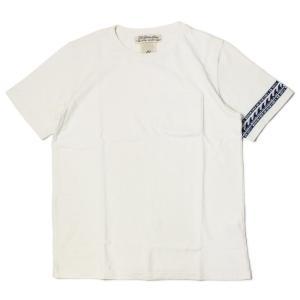 レミレリーフ / REMI RELIEF / Tシャツ / インディゴ ジャガード 切り替え ボーダー 2 / 返品・交換可能|luccicare