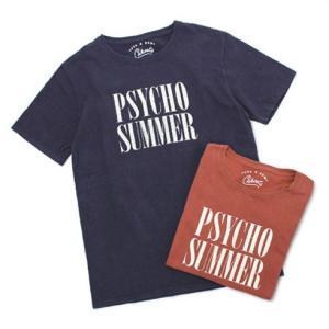 レミレリーフ / TCSS × REMI = CAHOOTS / PSYCHO SUMMER コットン Tシャツ / 返品・交換可能|luccicare