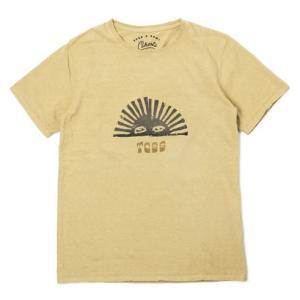 レミレリーフ / TCSS × REMI = CAHOOTS / SUN コットン Tシャツ / 返品・交換可能|luccicare