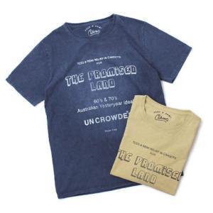 レミレリーフ / TCSS × REMI = CAHOOTS / THE PROMISED LAND コットン Tシャツ / 返品・交換可能|luccicare