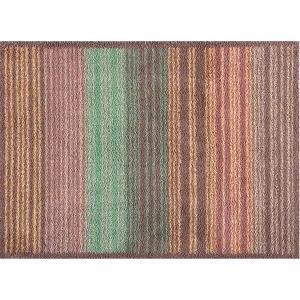 玄関マット ドアマット/洗える/タートルマット/グラデーションストライプ/室内外兼用/60×85cm|lucentmart-interior