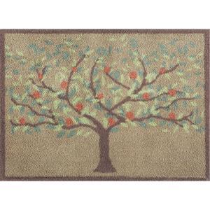 玄関マット ドアマット/洗える/タートルマット/オーチャード/室内外兼用/60×85cm|lucentmart-interior