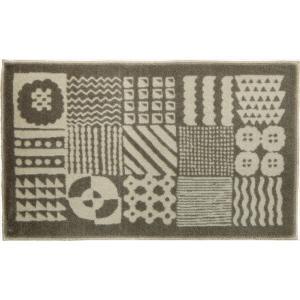 玄関 マット/モダンデザイン/Kobe Muoto コレクション/タイル/45×75cm|lucentmart-interior