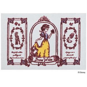 玄関マット ドアマット/ディズニー/ウォッシュ&ドライ/洗える/白雪姫/60×90cm/日本製|lucentmart-interior