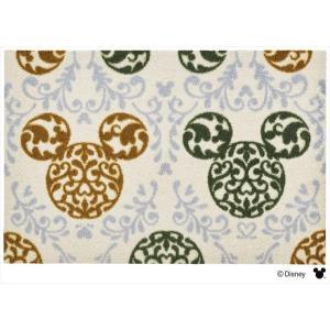 玄関マット ドアマット/ディズニー/ウォッシュ&ドライ/洗える/ミッキー ロココ調 グリーン/50×75cm/日本製|lucentmart-interior|04