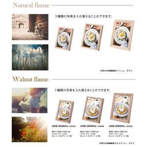 フォトフレーム 写真立て/Mサイズ W14 H19/写真3枚入り/2個セット/3カラー|lucentmart-interior|03