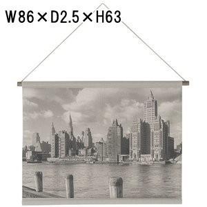 アート タペストリー/ネイチャー マンハッタン/W86 H63|lucentmart-interior