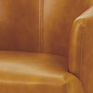 チェア ロビーチェア ダイニングチェア/ソフトレザー張り/W55/1脚/4カラー|lucentmart-interior|12