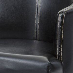 チェア ロビーチェア ダイニングチェア/ソフトレザー張り/W55/1脚/4カラー|lucentmart-interior|13