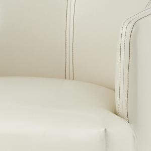 チェア ロビーチェア ダイニングチェア/ソフトレザー張り/W55/1脚/4カラー|lucentmart-interior|15