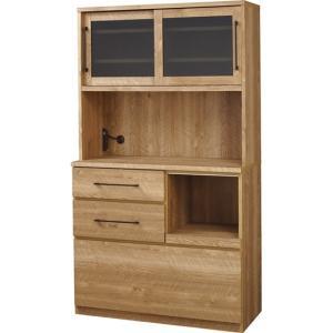 カップボード 食器棚/日本製/W104.3 D46.5 H184.6|lucentmart-interior