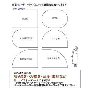 カーペット ラグマット/東リ/ウール 100% バーバークラフト/140×200cm 長方形 楕円 他/3色/住宅用 lucentmart-interior 03