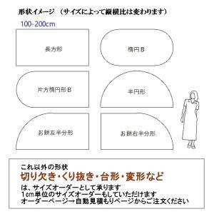 カーペット ラグマット/東リ/マスターフル/100×200cm 長方形 楕円 半円 他/7色/住宅用/日本製|lucentmart-interior|03