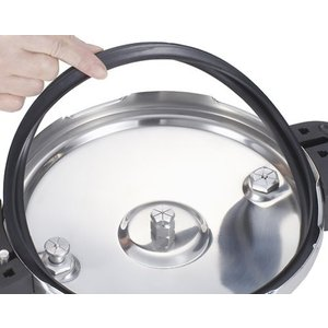 ワンダーシェフ 魔法のクイック料理 両手圧力鍋 5.5L 蒸しす・浜田ママの魔法のクイック料理(レシ...